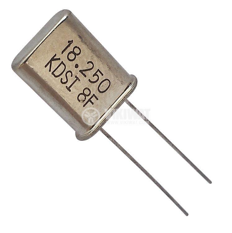 Кварцов резонатор METAL 18.2500MHz