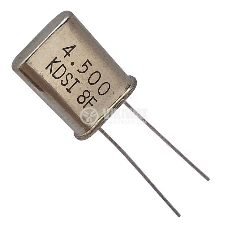 Кварцов резонатор METAL 4.5000MHz