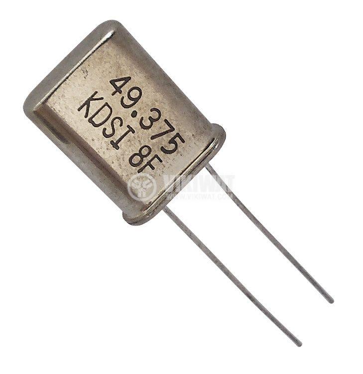 Кварцов резонатор METAL 49.3750MHz