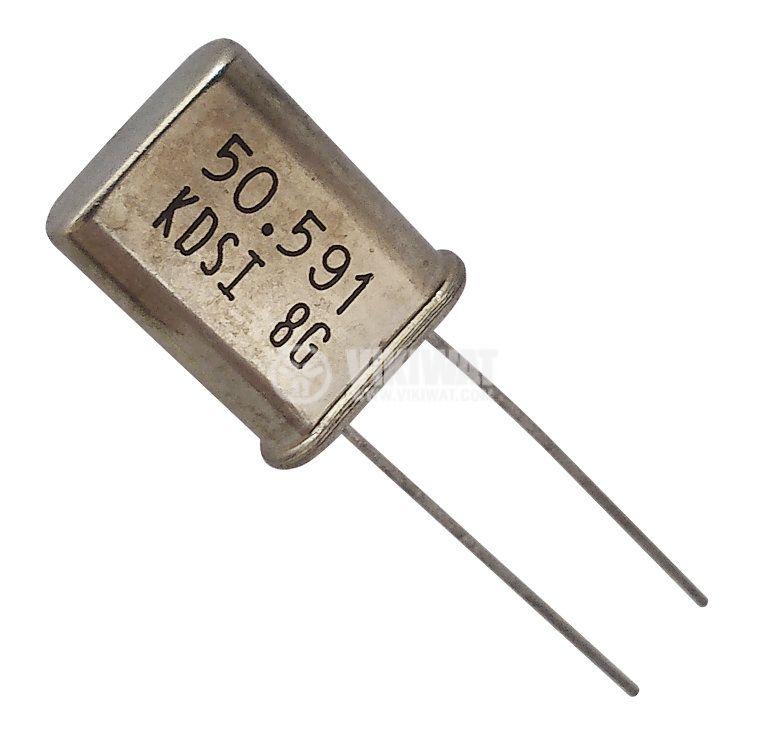 Кварцов резонатор METAL 50.5910MHz