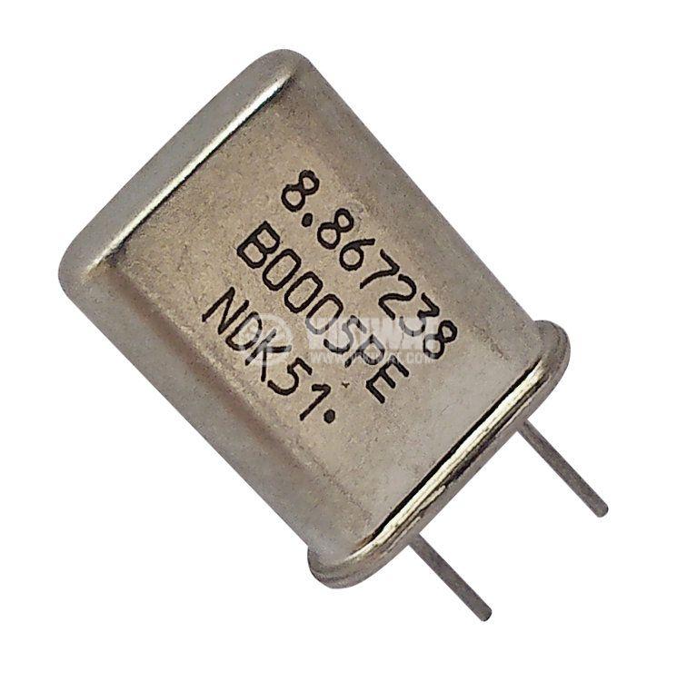 Кварцов резонатор METAL 8.867238MHz
