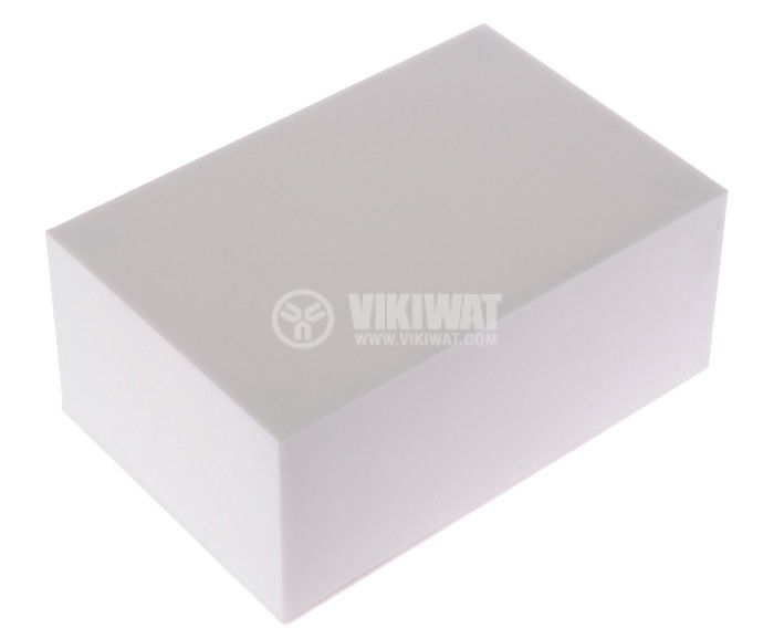Enclosure box 1-К plastic 86x58x36 mm, white - 1