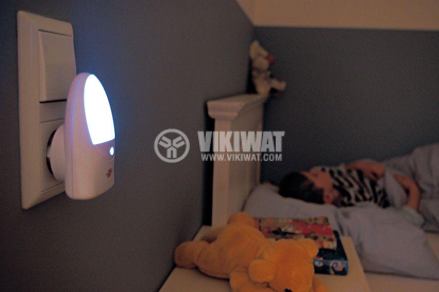 LED night lamp OL02 with light sensor - 2