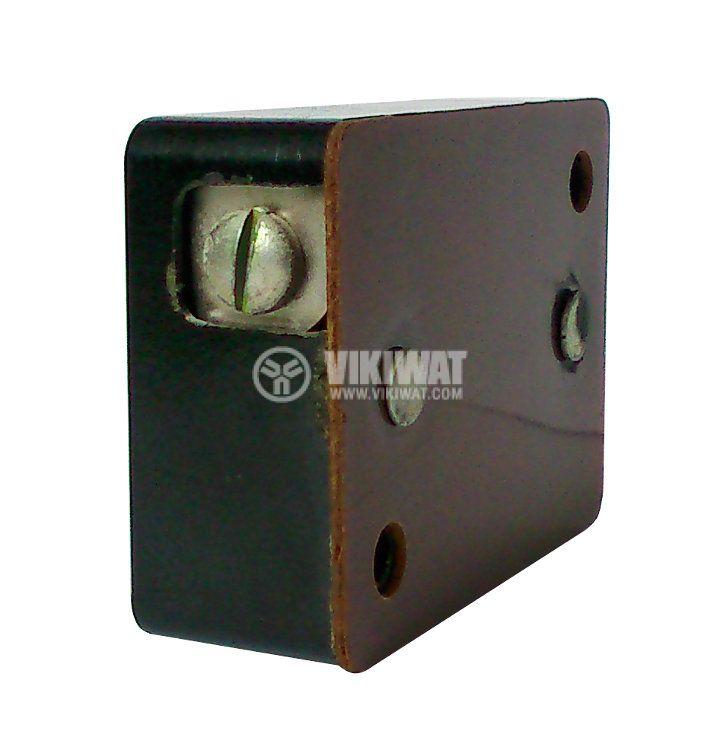 Държач за стартер за луминeсцентна лампа, бакелитен, черен - 2