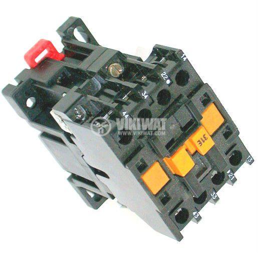 Contactor, four-pole, coil 220VАC, 4PST - 2NO+2NC, 6A, CA2-DN1229