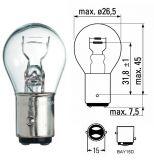 Автомобилна лампа, 24VDC, 21/5W, P21/5W, BAY15D