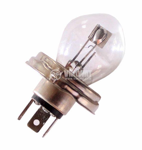 Автомобилна лампа с нажежаема жичка, R2, 6 VDC, 25/25 W, P45t