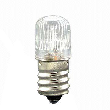 Glim lamp Е10, 220 V, neon