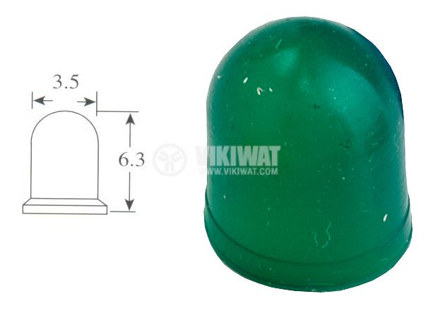 Маншон за лампа скала ф3.5mm х 6.3mm