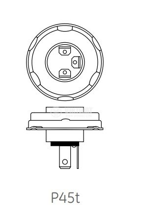 Автомобилна халогенна лампа 24VDC - 2