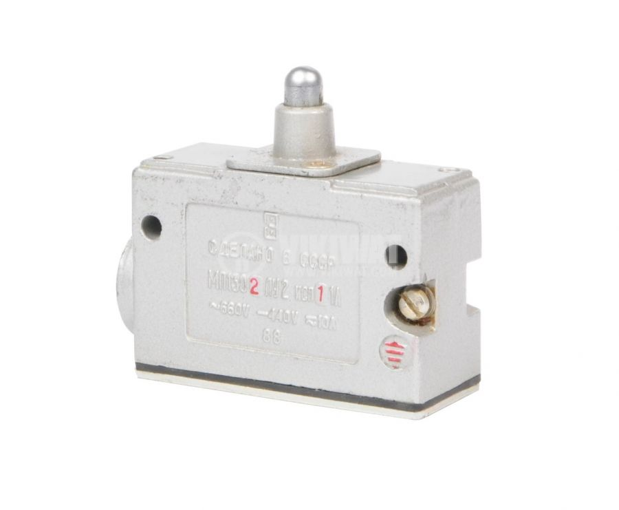 Limit Switch MP1302LU2-11A, 1NO+1NC, 10A/660VAC, plunger - 1