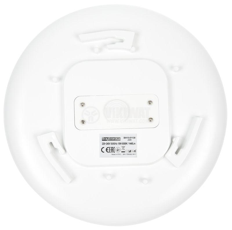 LED Ceiling light JADE with sensor, 18W, 220VAC, 1440lm, 6500K, IP44, BH15-01130 - 10