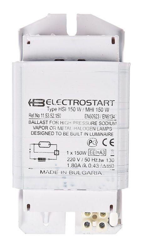 Ballast, NaHJ 150-715.6, 1x150 W for sodium or metal-halide lamps - 3