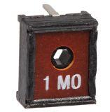 Тример потенциометър 1MOhm, еднооборотен, линеен, THT