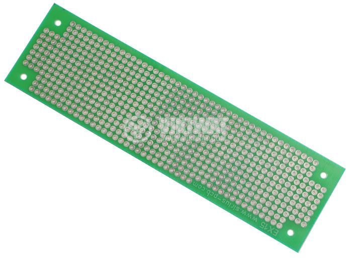 Универсална платка, едностранна, EX15, 37x130mm, 2.54mm