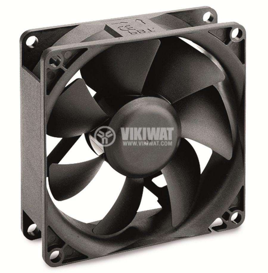 Вентилатор 12V 92x92x25 втулка 87.04m³/h  - 1