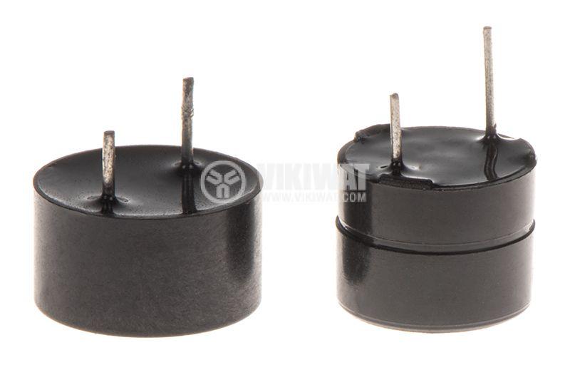 Зумер 12VDC, ф12mm с генератор - 1