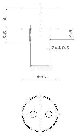 Зумер ф12 без генератор - 2