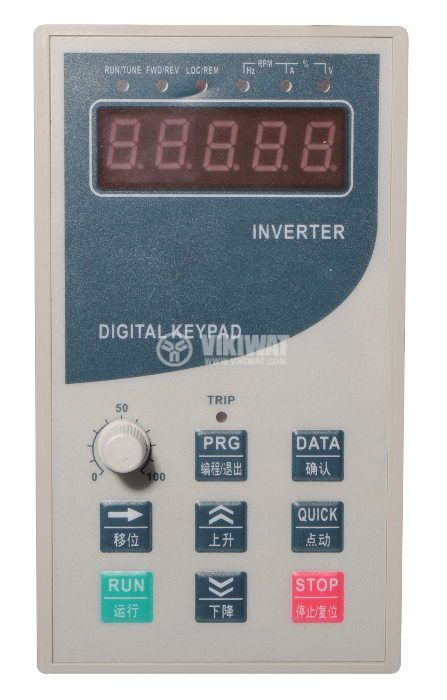Frequency inverter CB540G-7.5K, 380VAC, three-phase motor control 7.5kW - 3