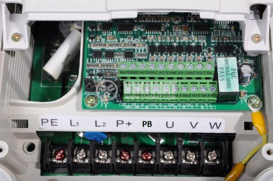 Честотен инвертор CB510G-4K, 220VAC, управление на трифазен  електродвигател 4kW - 4