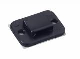 Държач за кабелни превръзки TY3G1S-PA66W-BK, 20x14mm, черен, двойнозалепващ - 2
