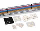 Държач за кабелни превръзки TY3G1S-PA66W-BK, 20x14mm, черен, двойнозалепващ - 3