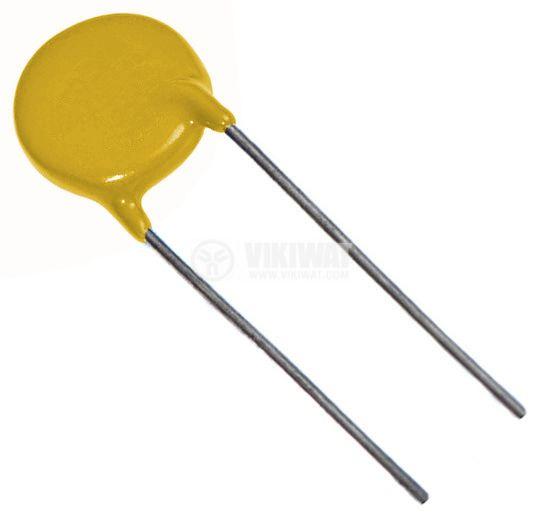 Варистор метал-оксиден 10N471K, 385VDC, 300VAC