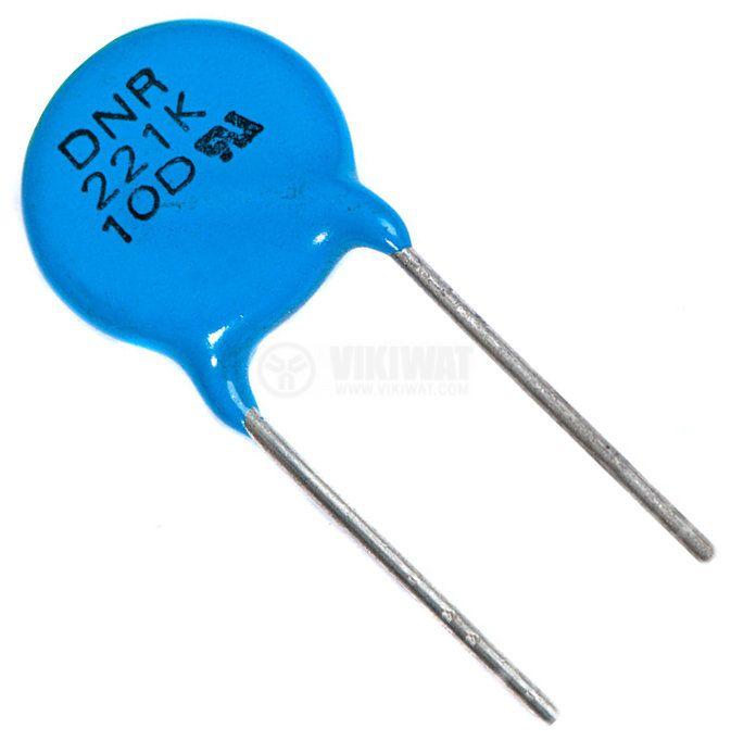 Варистор DNR10D221K, 180 VDC, 140 VAC