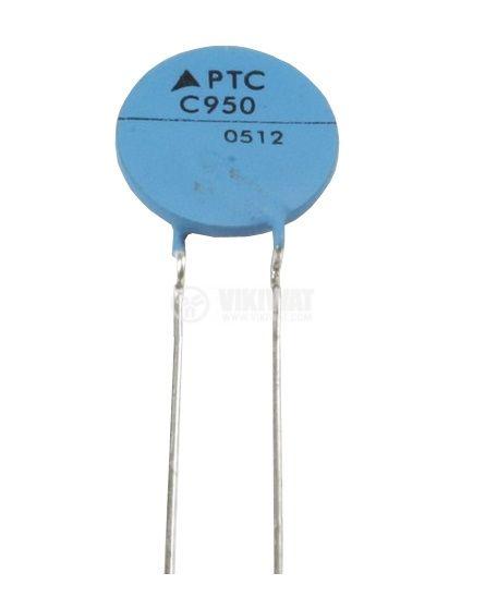 Терморезистор, PTC, 8.5 Ohm, C970, Ф9x2.5 mm - 1