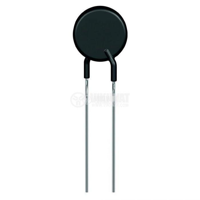 Терморезистор, PH-25R, PTC, 25 Ohm, Ф8x3.5 mm
