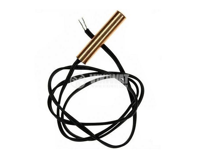Терморезистор, NTC, -50°C  до 120°C, 298.3 kOhm, Ф3.5x30 mm, с кабел