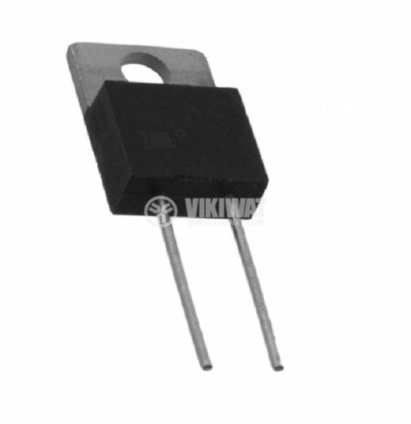 Resistor thick film, 2.2 Ohm, 30W, +/- 1%, THT, TO220, from -55 to +150°C - 1