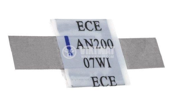 Предпазител полимерен възстановяем PTC 2 A, 30 VDC, ECE - 1