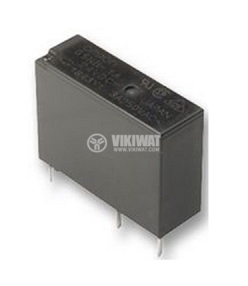 Electromagnetic relay universal, ALD124, with coil 24 VDC 277 VAC / 3A SPST  NO