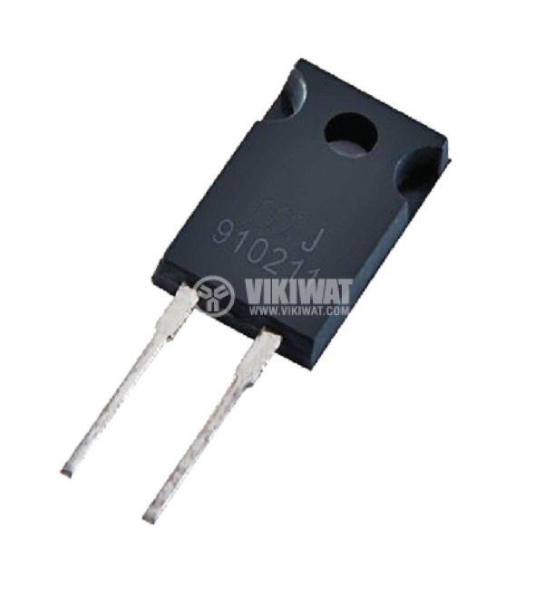 Резистор thick film, 0.1 Ohm, 20W, +/- 5%, THT, TO220, от -65 до +150°C, изолиран корпус - 1