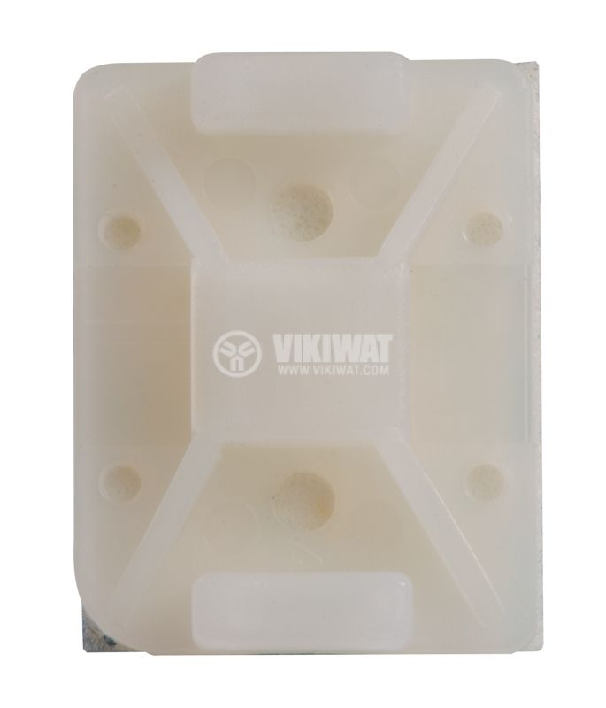 Holder for cable tie TY8G1S-PA66-NA, 32x25mm, white, adhesive - 2