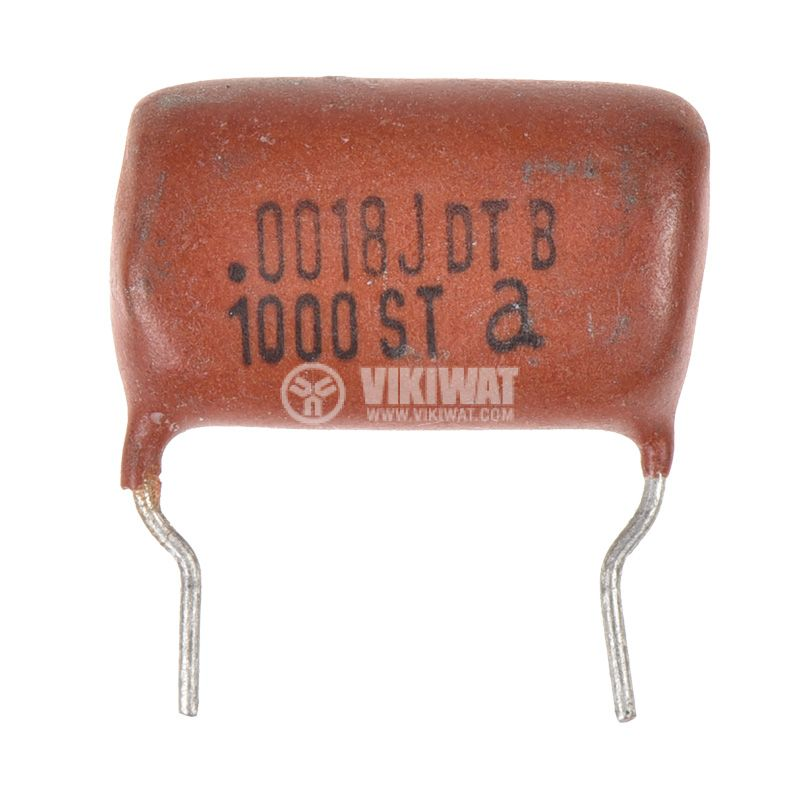 Polyester Capacitor 1.8nF, 1kV, +/-5% - 1