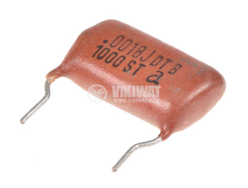 Polyester Capacitor 1.8nF, 1kV, +/-5% - 2