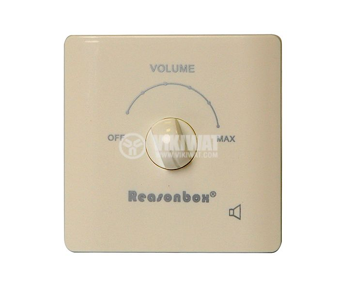 Volume control,  L86-2-10, 10W, in wall mount, white - 1