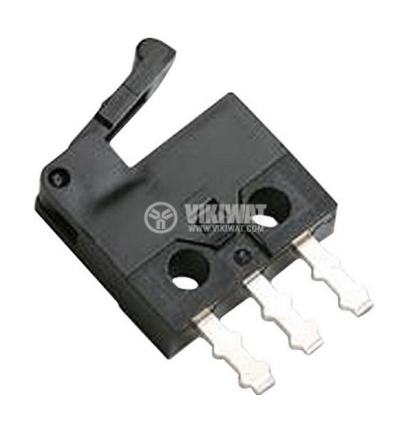 Micro Switch D2MQ-4L-1, ON-(ON), SPDT, 0.5 A / 30 VDC - 1