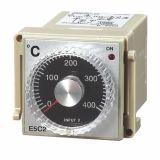Термоконтролер, E5C2, 220 VAC, 0 °C до 400 °C, за термодвойка тип J, релеен изход