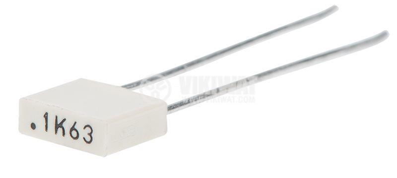 Полиестерен кондензатор, 100nF, 63V, 2.5х6.5х7.2mm, THT, +/-5% - 1
