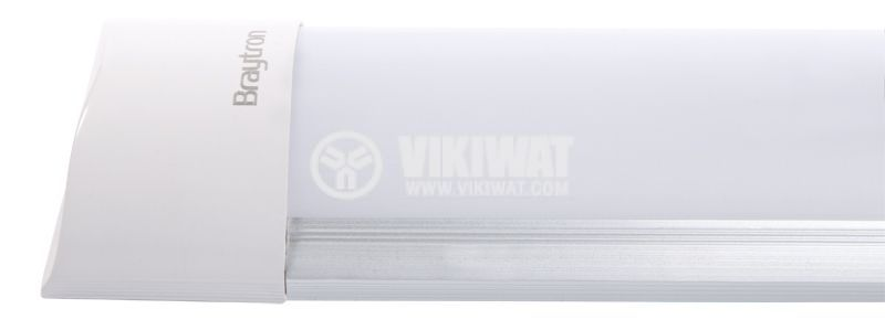 LED wall lamp 36W, 220VAC, 2850lm, 6400K, cold white, 1200mm, BN18-1225 - 2