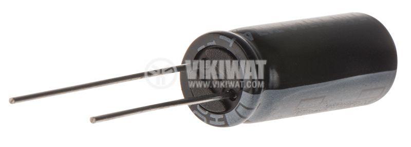 Кондензатор електролитен 1000uF, 16V, THT, Ф8x21mm - 2