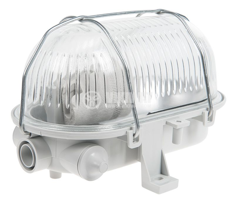 Ceiling lamp OVAL, E27, 230VAC, 42W, IP44 - 1