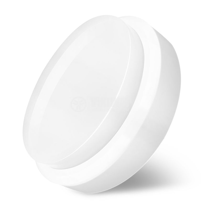 LED ceiling lamp BULKHEAD 18W, 220VAC, 1260lm, 6500K, cool white, IP54, waterproof, BC16-00630 - 4