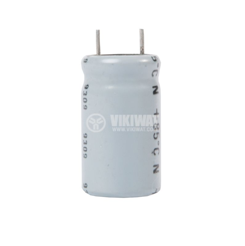 Кондензатор електролитен 40 V, 1000 µF, Ф13x23 mm - 1