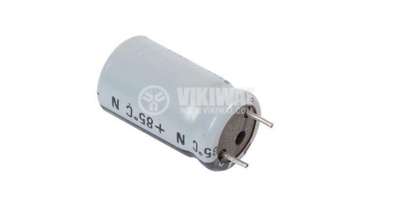 Кондензатор електролитен 40 V, 1000 µF, Ф13x23 mm - 2