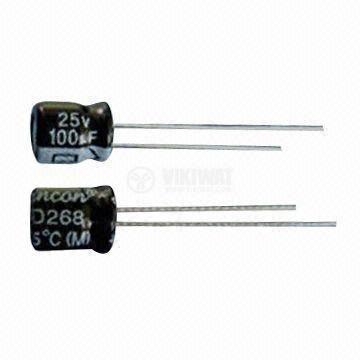 Кондензатор електролитен 50 V, 1000 µF, Ф13x26 mm