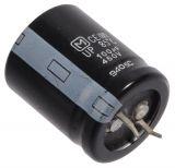 Кондензатор електролитен 450 V, 100 µF, Ф25x31 mm, snap-in - 2